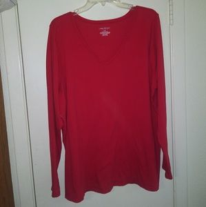 Lane Bryant red top size 22/24